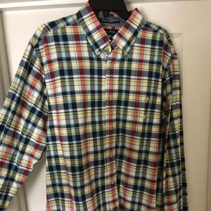 Nautica long sleeve casual dress shirt